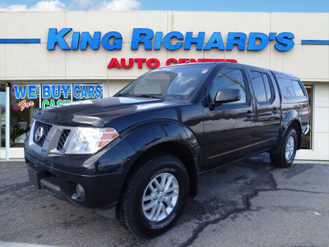 2016 Nissan Frontier for sale at KING RICHARDS AUTO CENTER in East Providence RI