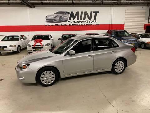 2010 Subaru Impreza for sale at MINT MOTORWORKS in Addison IL