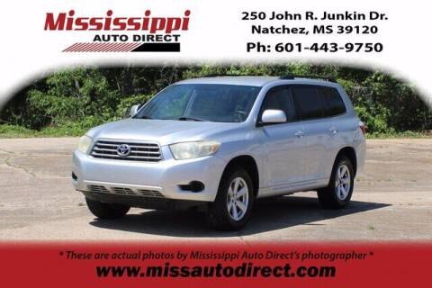 2008 Toyota Highlander for sale at Auto Group South - Mississippi Auto Direct in Natchez MS