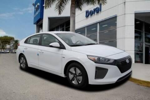 2019 Hyundai Ioniq Hybrid for sale at DORAL HYUNDAI in Doral FL