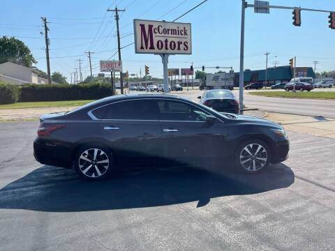 2017 Nissan Altima for sale at McCormick Motors in Decatur IL