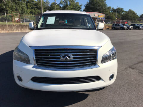2012 Infiniti QX56 for sale at Beckham's Used Cars in Milledgeville GA