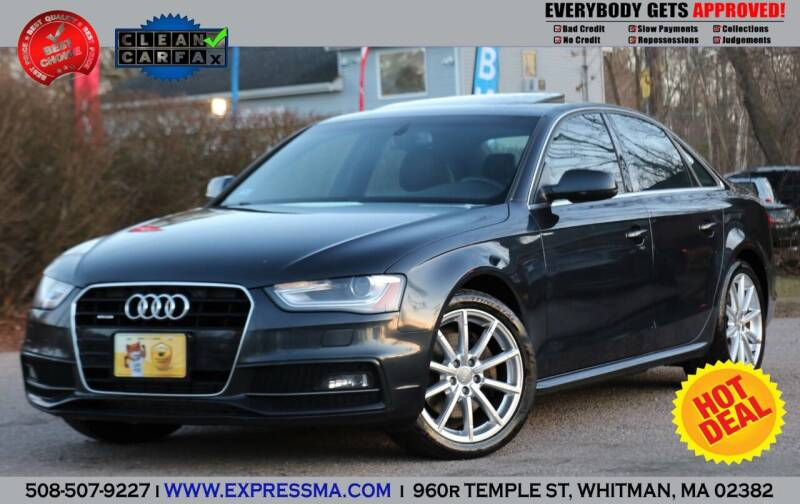2014 Audi A4 for sale at Auto Sales Express in Whitman MA