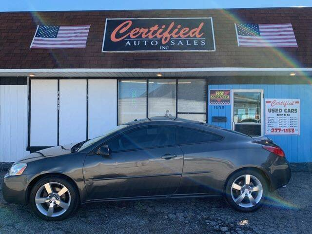 2006 Pontiac G6 for sale at Certified Auto Sales, Inc in Lorain OH