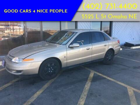 2002 Saturn L-Series for sale at Good Cars 4 Nice People in Omaha NE