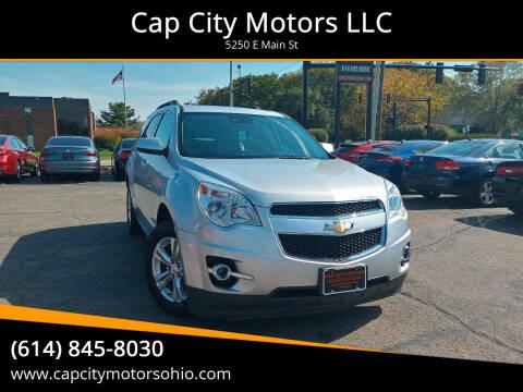 2015 Chevrolet Equinox for sale at Cap City Motors LLC in Columbus OH