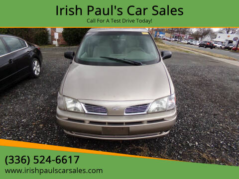 2002 Oldsmobile Silhouette for sale at Irish Paul's Car Sales in Burlington NC