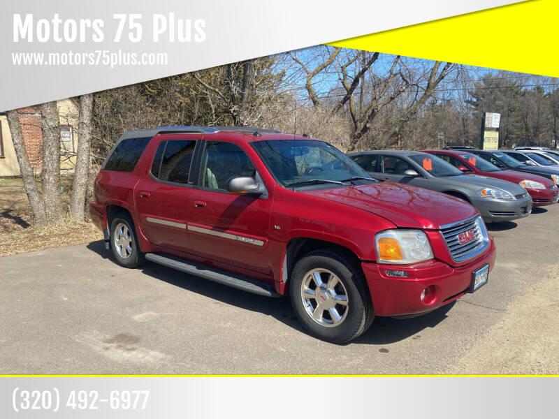 2004 GMC Envoy XUV for sale at Motors 75 Plus in Saint Cloud MN