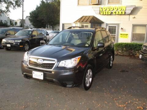 2014 Subaru Forester for sale at Loudoun Used Cars in Leesburg VA