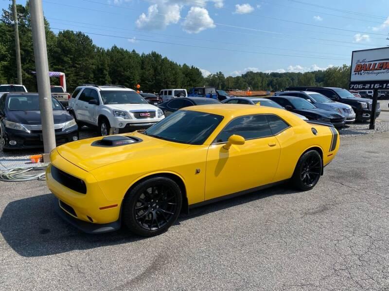 2017 Dodge Challenger for sale at Billy Ballew Motorsports in Dawsonville GA