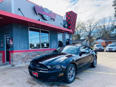 2013 Ford Mustang for sale at Chema's Autos & Tires in Tyler TX