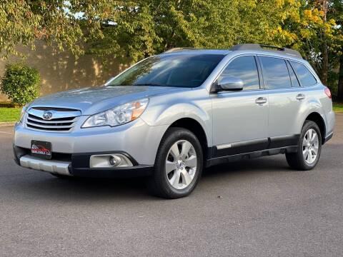2012 Subaru Outback for sale at Beaverton Auto Wholesale LLC in Hillsboro OR