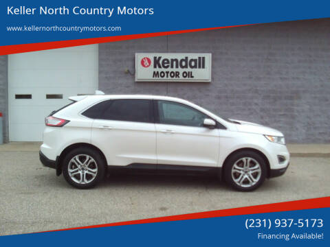 2015 Ford Edge for sale at Keller North Country Motors in Howard City MI