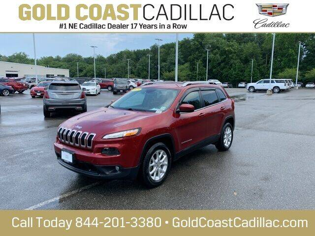 2015 Jeep Cherokee for sale at Gold Coast Cadillac in Oakhurst NJ