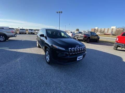 2014 Jeep Cherokee for sale at King Motors featuring Chris Ridenour in Martinsburg WV