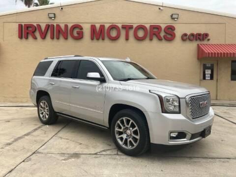 2015 GMC Yukon for sale at Irving Motors Corp in San Antonio TX