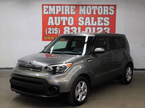 2018 Kia Soul for sale at EMPIRE MOTORS AUTO SALES in Philadelphia PA