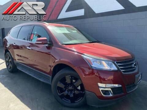 2017 Chevrolet Traverse for sale at Auto Republic Fullerton in Fullerton CA