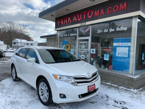 2014 Toyota Venza for sale at Park Auto LLC in Palmer MA