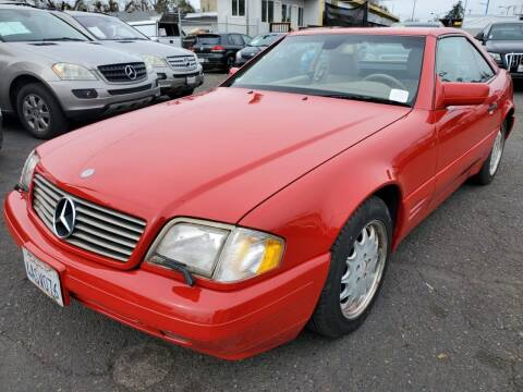 1998 Mercedes-Benz SL-Class for sale at MCHENRY AUTO SALES in Modesto CA