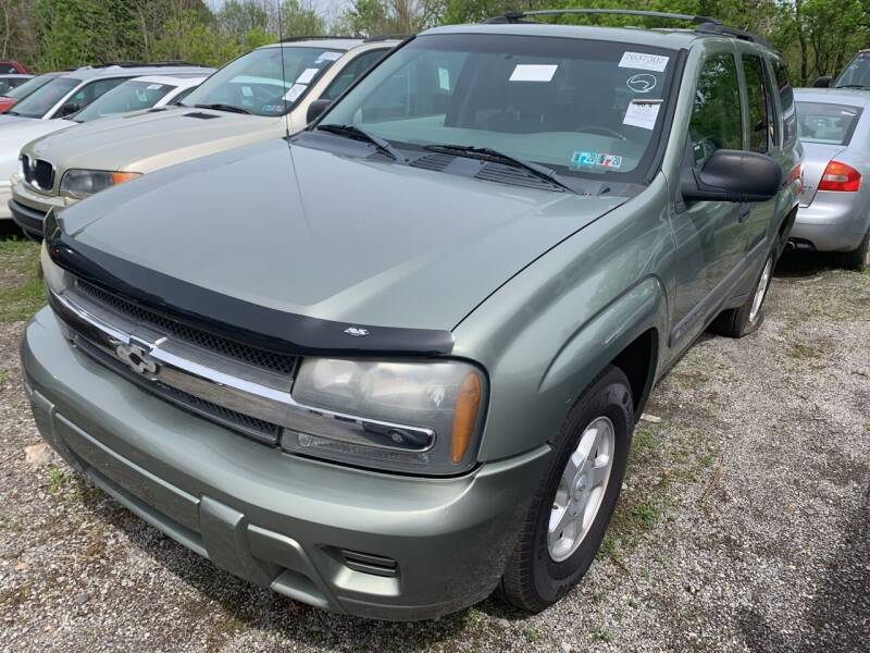 2003 Chevrolet TrailBlazer for sale at Trocci's Auto Sales in West Pittsburg PA
