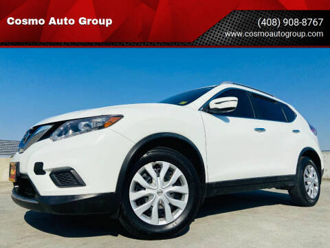 2016 Nissan Rogue for sale at Cosmo Auto Group in San Jose CA
