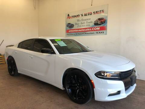 2017 Dodge Charger for sale at Antonio's Auto Sales in South Houston TX