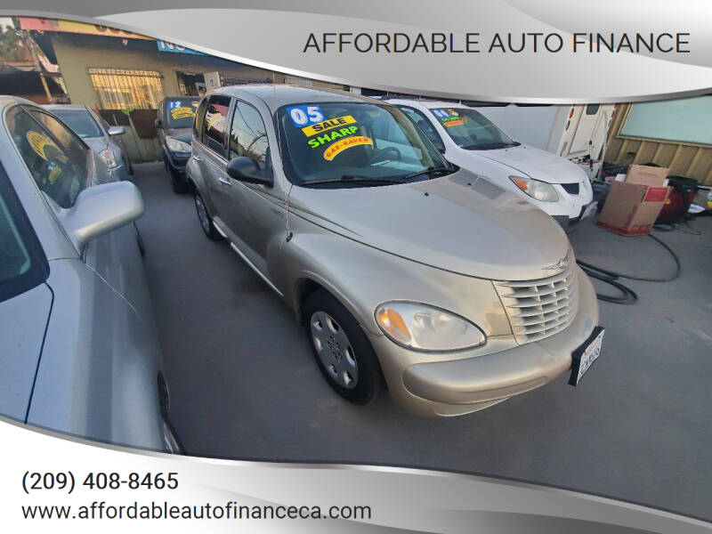 2005 Chrysler PT Cruiser for sale at Affordable Auto Finance in Modesto CA