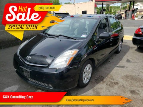 2008 Toyota Prius for sale at G&K Consulting Corp in Fair Lawn NJ