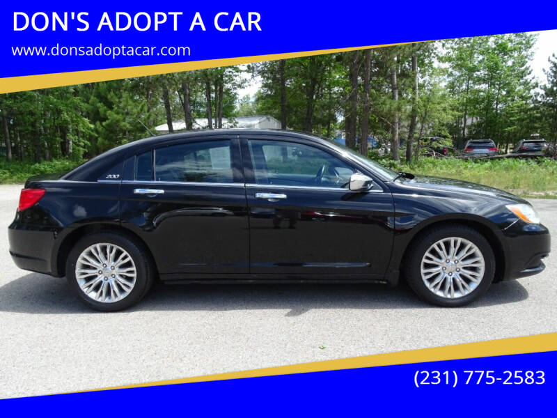 2013 Chrysler 200 for sale at DON'S ADOPT A CAR in Cadillac MI