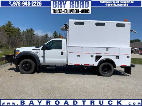 2001 Ford F-450 Super Duty for sale at Bay Road Trucks in Newbury MA