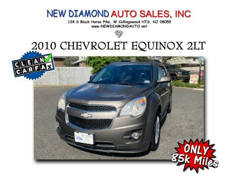 2010 Chevrolet Equinox for sale at New Diamond Auto Sales, INC in West Collingswood NJ