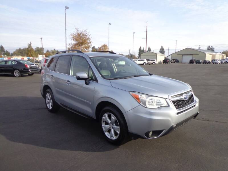 2014 Subaru Forester for sale at New Deal Used Cars in Spokane Valley WA