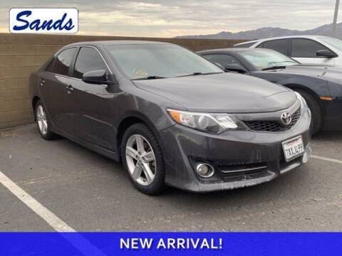 2013 Toyota Camry for sale at Sands Chevrolet in Surprise AZ