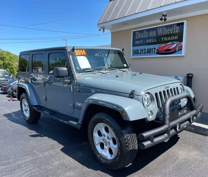 2014 Jeep Wrangler Unlimited for sale at DEALZ ON WHEELZ in Winchester VA
