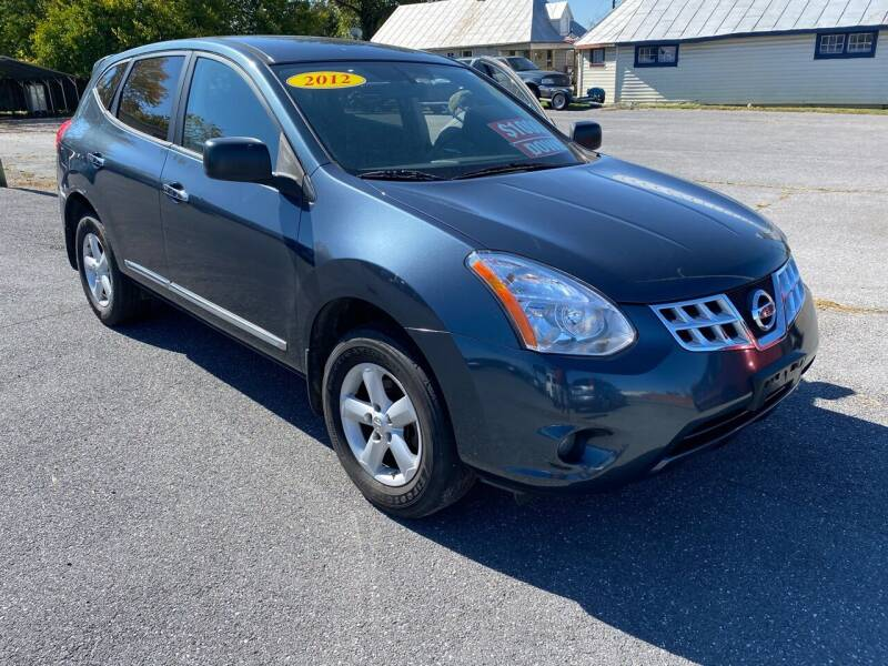 2012 Nissan Rogue for sale at Boris Auto Sales & Repairs in Harrisonburg VA