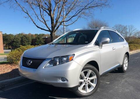 2011 Lexus RX 350 for sale at William D Auto Sales in Norcross GA