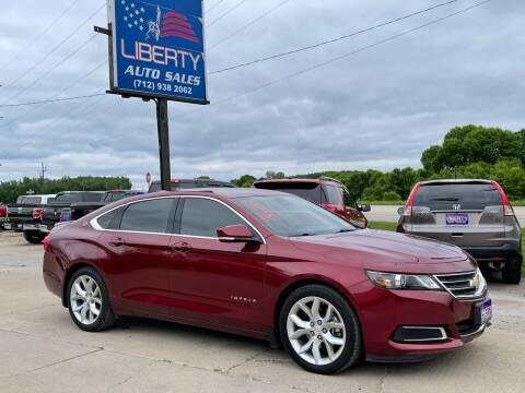 2016 Chevrolet Impala for sale at Liberty Auto Sales in Merrill IA