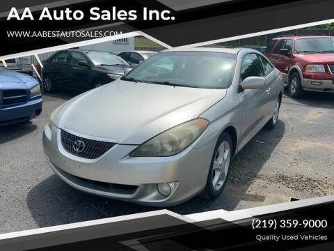 2006 Toyota Camry Solara for sale at AA Auto Sales Inc. in Gary IN