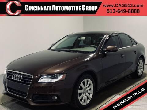 2011 Audi A4 for sale at Cincinnati Automotive Group in Lebanon OH