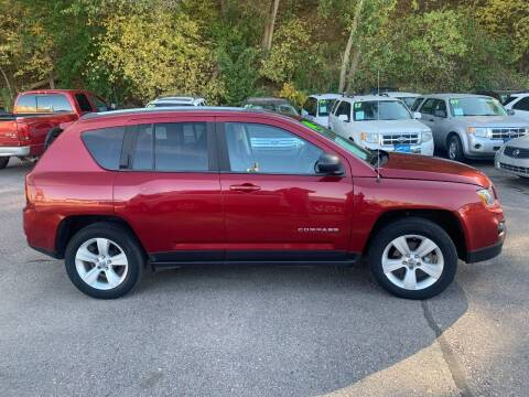 2014 Jeep Compass for sale at Iowa Auto Sales, Inc in Sioux City IA