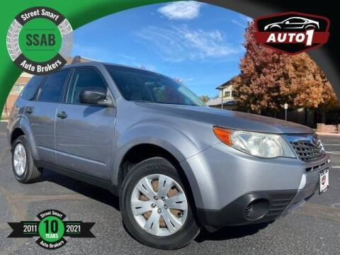 2010 Subaru Forester for sale at Street Smart Auto Brokers in Colorado Springs CO