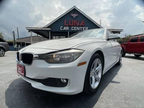 2015 BMW 3 Series for sale at LUNA CAR CENTER in San Antonio TX