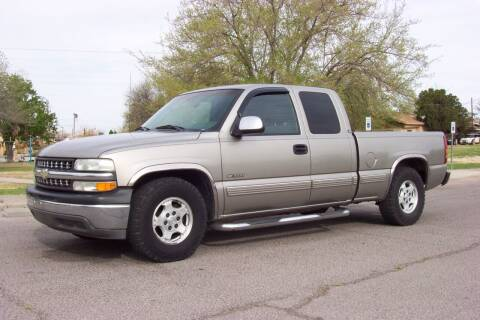 2002 Chevrolet Silverado 1500 for sale at Park N Sell Express in Las Cruces NM