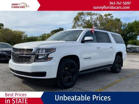 2016 Chevrolet Suburban for sale at Sunny Florida Cars in Bradenton FL