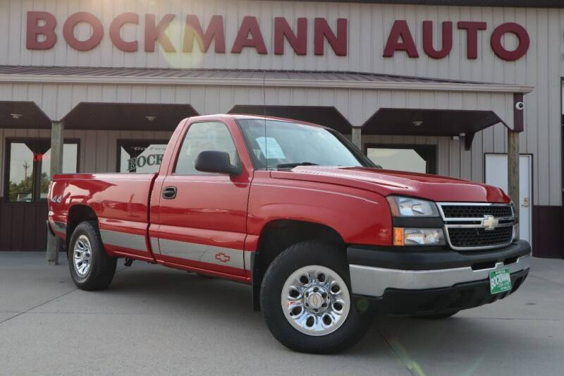 2007 Chevrolet Silverado 1500 Classic for sale at Bockmann Auto Sales in Saint Paul NE