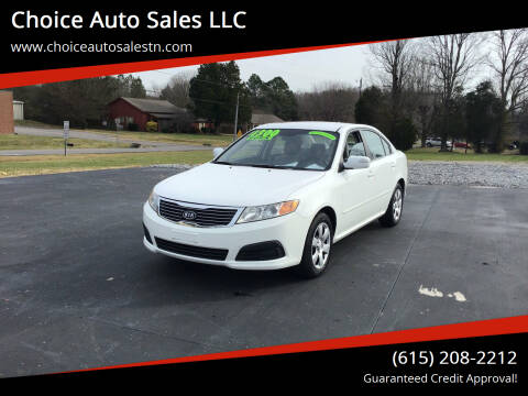 2010 Kia Optima for sale at Choice Auto Sales LLC - Buy Here Pay Here in White House TN