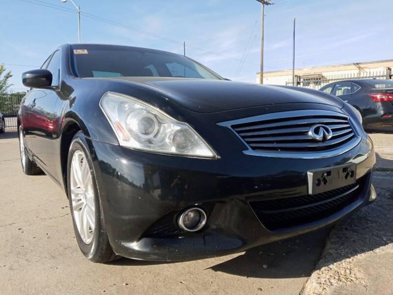 2012 Infiniti G25 Sedan for sale at Auto Haus Imports in Grand Prairie TX