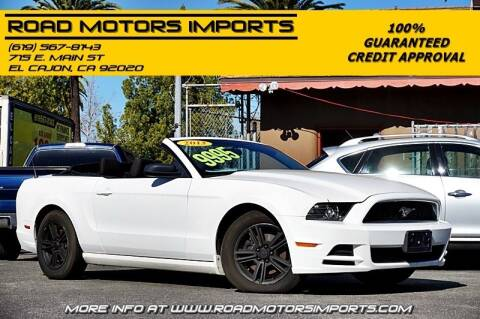 2013 Ford Mustang for sale at Road Motors Imports in El Cajon CA