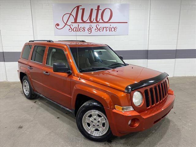 2010 Jeep Patriot for sale at Auto Sales & Service Wholesale in Indianapolis IN